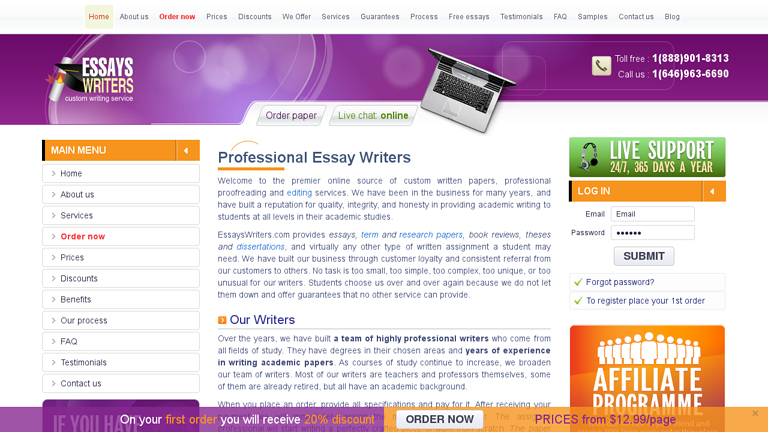 EssaysWriters.com