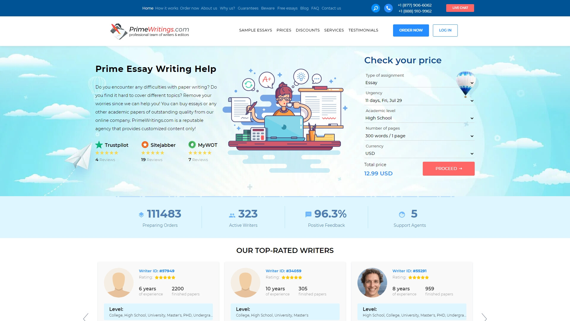 PrimeWritings.com review